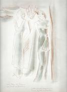 Feuillet 1936 Dessin De MODE De PUB Signé Mariette LYDIS . - Autres Collections