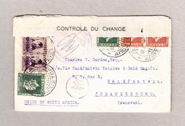 Griechenland Kreta Xania 30.4.1939 Zensurbrief Nach Johannesburg - Lettres & Documents