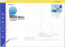 LETTRE DISTINGO LA POSTE PUBLICITAIRE WALLIS UNIVERSAL MEXIMIEUX 01 EN 1993 - 1961-....