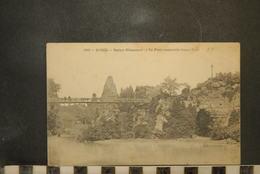 CP, 75, PARIS, N°699, Buttes Chaumont - Le Pont Suspendu ( Longueur 63 M ) - Arrondissement: 19