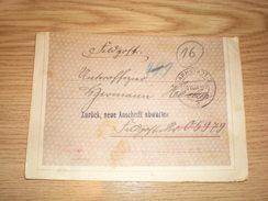 Darmstadt Feldpost Zuruck Neue Anschrift Abwarten 1944