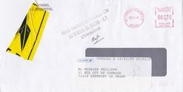 LETTRE ACCIDENTEE OBJET PARVENU EN MAUVAIS ETAT BUREAU RP MACON EN 2000 - Marcofilie (Brieven)