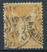 N°86 CACHET PARIS LEVÉE EXCEPTIONNELLE. - 1876-1898 Sage (Type II)