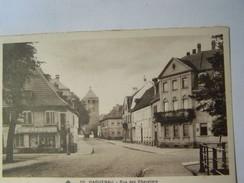 Cp1200 E4  HAGUENAU Rue Des Chevaliers   Magasin SADAL 1934 - Haguenau