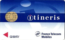 CARTE TELEPHONE SALON DEMONSTRATION GSM FRANCE TELECOM  MOBILES ITINERIS - France