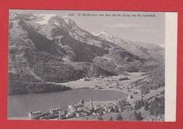 Moritz Dorf Und Bad Mit Piz - GR Grisons