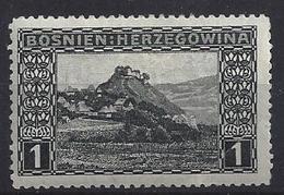 Bosnia And Hertzegovina 1906  1h (*) MH  Mi.29 A - Bosnia And Herzegovina