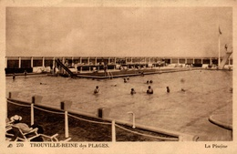 CPA Trouville-Reine Des Plages La Piscine - Animée - Trouville