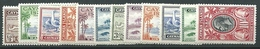 Cayman Island, Unif 89/100, Gibbons 96/107, Scott 85/96 * - Cayman (Isole)