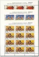 1992-ED.3157a59 EN MINIPLIEGO-M.P. 40,41,42-BARCELONA´92 VIII SERIE PREOLÍMPICA.TIRO CON ARCO.VELO.VOLEYBOL-NUEVO - Blocs & Hojas