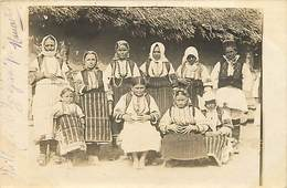 Pays Div-ref H554- Guerre 1914-18- Carte Photo -village De Zabjani Pres De Monastir   -carte Bon Etat  - - Macedonia