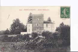 4 Cpa Diverses De  Châteaux : Goujon, Convert, Mussel Et Bagé-le-Chatel - France