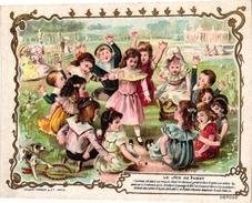 1 Card C1900 PUB A La Ville D' Auxerre Maison Bernheim  Imp L Verger Paris - Jeux De Société