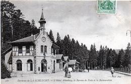 - A3-   CPA...Environs De La SCHLUCHT...L'hotel Altenberg Le Bureau De Poste Et La Restauration Postee 1907 - France