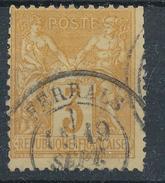 N°86 CACHET A DATE BELLE FRAPPE. - 1876-1898 Sage (Type II)