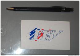 Autocollant 082, Sport Voile FFV Fédération Française De Voile - Stickers