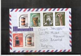 Archéologie - Lettre Du Guatemala Vers Belgique  (à Voir) - Archaeology