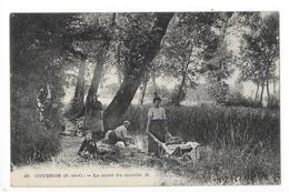 COUBRON  (cpa 93)  La Mare Du Moulin - Colonie Du Rosaire (cachet) -    - L 1 - Autres Communes