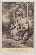 Friederike Brion (Dichtung Und Wahrheit, Goethe) By Wilhelm Von Kaulbach Postcard Travelled 1913 Graz Pmk B170306 - Ecrivains