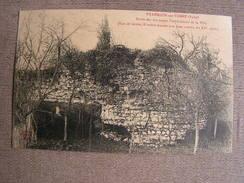 Cpa 10 Aube Villemaur Sur Vanne Anciennes Fortifications De La Ville Rue De Greve - Autres Communes