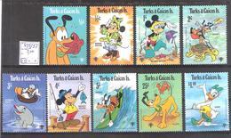 Turks Et Caïques  N° 445/53 ** Walt Disney  Cote Yvert : 5,00 €. - Turks & Caicos (I. Turques Et Caïques)