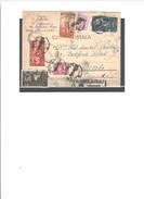 ROMANIA P.C.TO CANADA Mrs ADMIRAL ETHEL PANTAZI 1948 RARE - 1948-.... Republiken