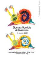 [MD0667] CPM - TORINO - GIORNATA MONDIALE DELL'AMBIENTE 2001 - WORLD ENVIRONMENT DAY - CON ANNULLO 5.6.2001 - NV - Cartoline