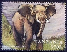 African Elephants, Wild Animals, Tanzania MNH - Elephants