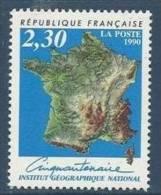 """FR YT 2662 """" Institut Géographique National """" 1990 Neuf** - France"""