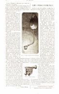 LAMPE A PETROLE Systéme WELLS    1884 - Non Classés