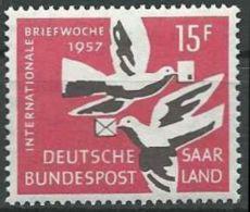 SAARLAND 1957 MI-Nr. 408 ** MNH - 1957-59 Federazione