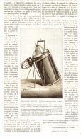 LES  LAMPES ELECTRIQUES PORTATIVES De  M.G.TROUVE   1884 - Sciences & Technique