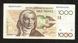 BELGIQUE - BANQUE NATIONALE De BELGIQUE - 1000 FRANCS / André Ernest Modeste Grétry - [ 2] 1831-... : Regno Del Belgio