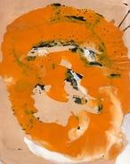 Personnage Post-cubiste.acryliques Sur Papier.(Tesson).feuille : 270 X 210 Mm. - Acrilici
