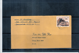 Cover From Jamaica To USA - National Stadium (to See) - Jamaique (1962-...)