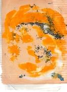 Personnage Post-cubiste.acryliques Sur Papier.(Tesson).feuille : 270 X 210 Mm. - Acryliques