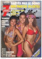 Télé 7 Jours N° 1686 - Semaine Du 19 Au 25 Sept 1992 - Sauvés Par Le Gong, Florent Pagny, Chevallier & Laspalès, Bokassa - 1950 - Nu