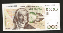 BELGIQUE - BANQUE NATIONALE De BELGIQUE - 1000 FRANCS / André Ernest Modeste Grétry - [ 2] 1831-... : Belgian Kingdom