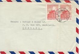 Taiwan - Cover Sent To Iceland. H-1082 - 1945-... República De China