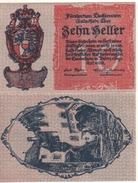 LIECHTENSTEIN  1O Heller    P1    (ND  1920)    UNC - Liechtenstein