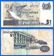 Singapour 1 Dollar 1976 Que Prix + Port Singapore Asie Asia Skrill Bitcoin Paypal OK - Singapour