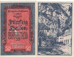LIECHTENSTEIN  5O Heller    P3    (ND  1920)    UNC - Liechtenstein