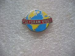 Pin's POLYGRAM Vidéo - Cinéma