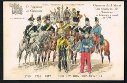 CHASSEURS Du HAINAUT,créé Dragons En 1675 Transformé En Chasseurs à Cheval En 1788-5° Régiment De Chassseurs-Paypal Free - Regiments
