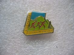 Pin's Du Marathon Du Ballon D'Alsace (Dépt 88- Vosges) - Biathlon
