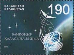 Kazakhstan 2010. 55th Anniversary Of Baikonur. Space. MNH** - Kasachstan