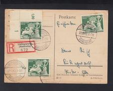 Dt. Reich R-PK 1942 Lüdingworth - Briefe U. Dokumente