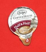 "462-1  - Mini Opercule "" COFFEE HOUSE "" Pour Collection - Milchdeckel - Kaffeerahmdeckel"
