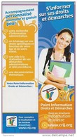 Marque-page °° CRIJ - Information Jeunesse Droits Et Démarches  6x21 - Lesezeichen