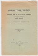 Algerie Guerre Independance -revendications Indigenes -GHLAMALLAH Cheikkh Zaouia Sidi Adda-com Senatoriale Tiaret -1931 - Documents Historiques